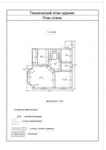 Образец графической части Технического плана