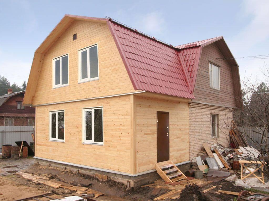 Как увеличить площадь дома за счет пристройки