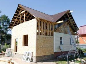 Расширение дома за счет пристройки