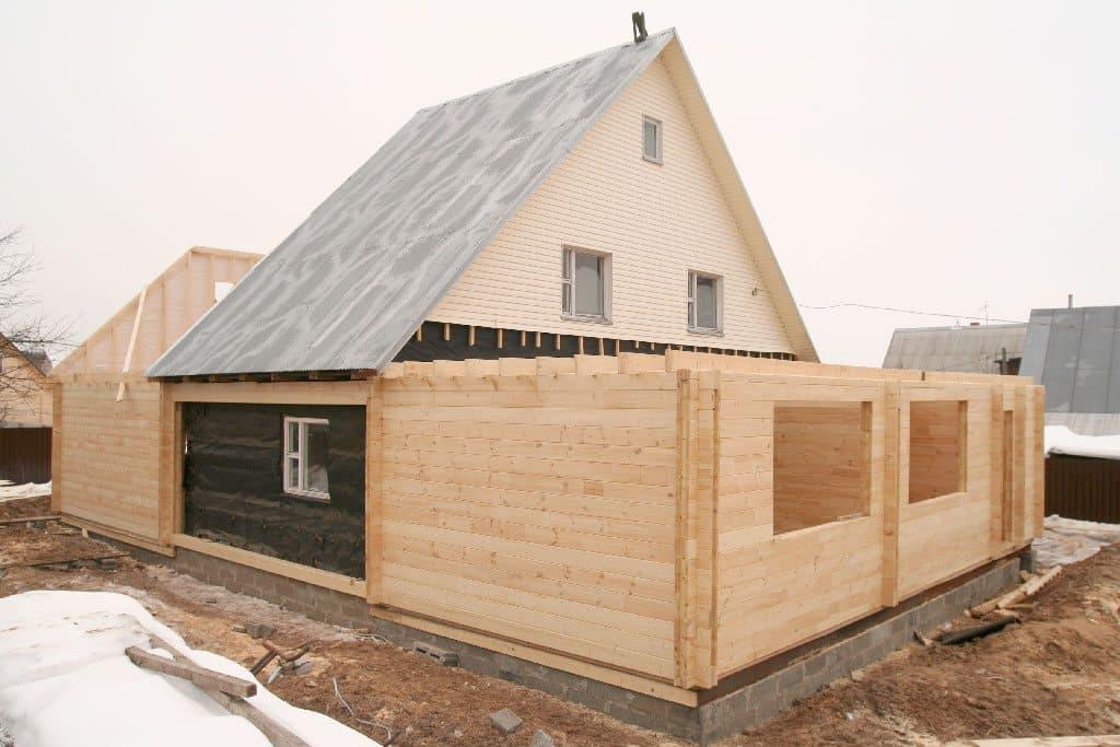 Поэтапное расширение дома за счет пристройки