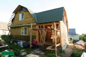 Как увеличить площадь дома